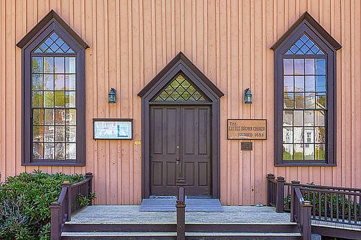 The Little Brown Church by Rick Berk