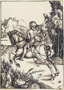 Albrecht Durer - The Little Courier