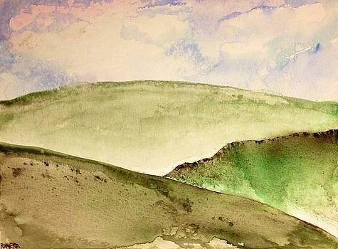 The Little Hills Rejoice by Antonio Romero