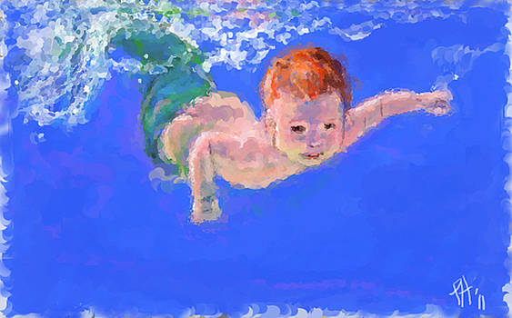The little litle mermaid by Peggy Hickey