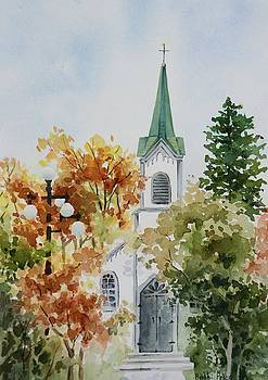 The Little White Church by Bobbi Price