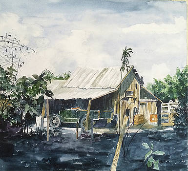 The Locke Barn by Glen Ward