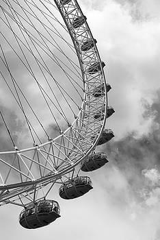 The London Eye, London, England by Richard Goodrich