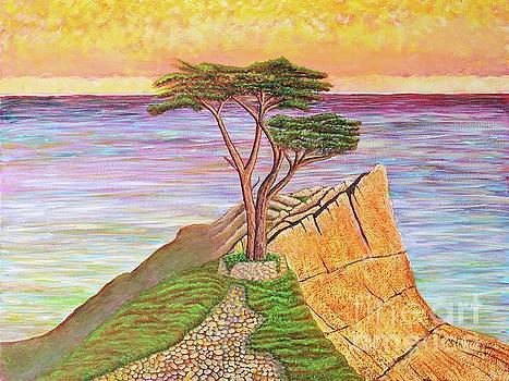 The Lone Cypress  by Joseph J Stevens