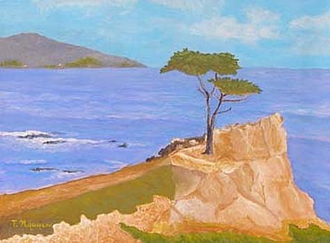 The Lone Cypress Monterey California by Thi Nguyen