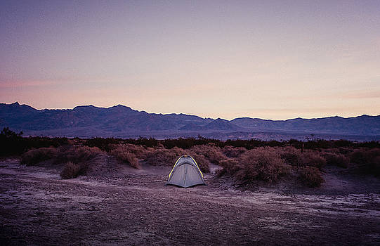 The lone Tent by Justin Carrasquillo