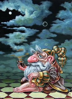The Long a smoking break by Victor Molev