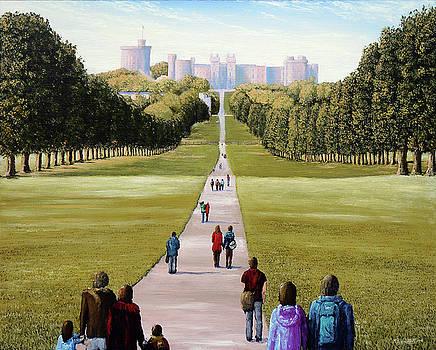 The Long Walk Windsor IV by Mark Woollacott