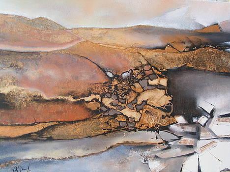 The Long Way In Dunes by Olga Dmytrenko