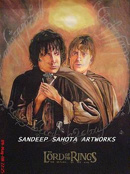 The Lord Of The Rings by Sandeep Kumar Sahota