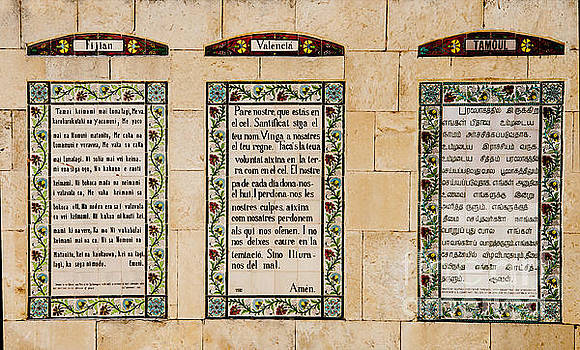 The Lord's Prayer in all Languages by Mae Wertz