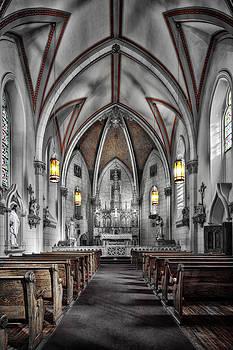 The Loretto Chapel in Santa Fe, New Mexico by Kevin L Cole