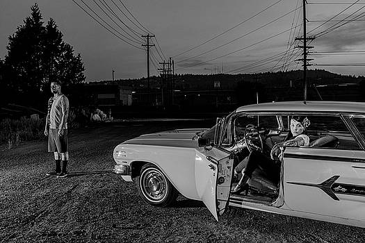 The Lost Highway Chevy Impala 1960 by Christian Heeb