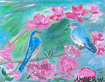 The Love Birds by Amber Waltmann