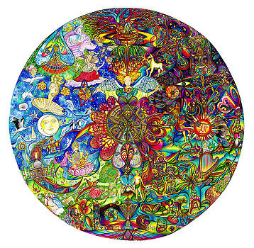 the LOVE mandala by diNo and dART