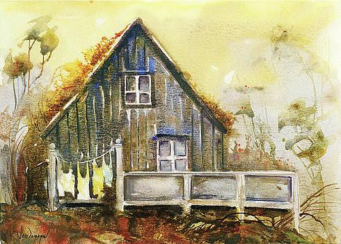 The Lovely Cabin by Kristina Vardazaryan
