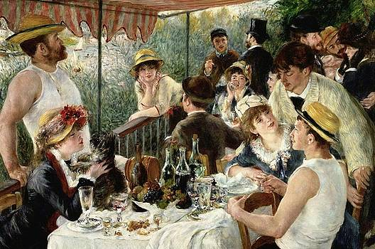 Renoir - The Luncheon Of The Boating Party