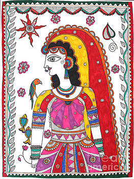 The Madhubani Woman by Shachi Srivastava