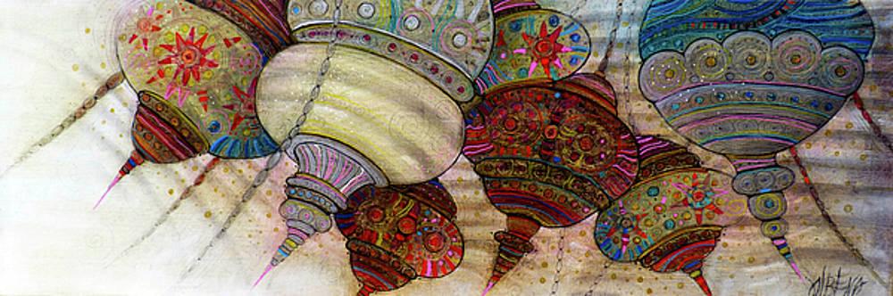 The magic of Orient - ALADDIN's lampes by Albena Vatcheva