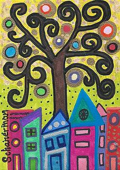 The Magic Tree of Funky Town by Susan Schanerman
