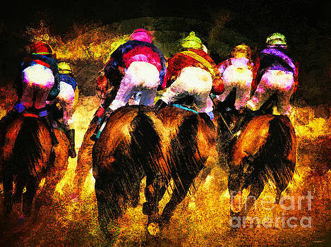 The Magnificent Riders by Tina LeCour
