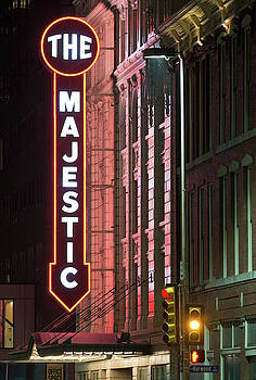 The Majestic Theater Facade 92217 by Rospotte Photography