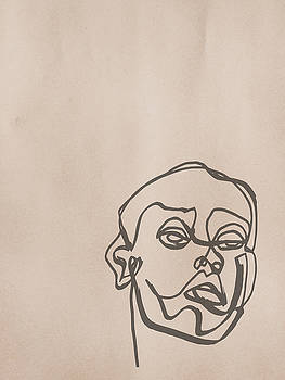 The Man On Butcher by Cortney Herron