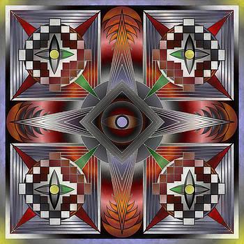 The Mandala Eye by Mario Carini