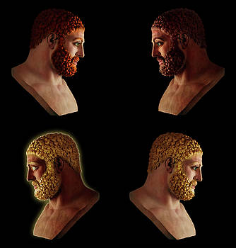 The Many Faces of Hercules 2 by Shawn Dall