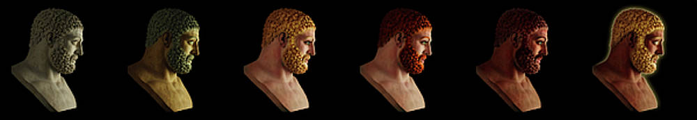 The many Faces of Hercules by Shawn Dall
