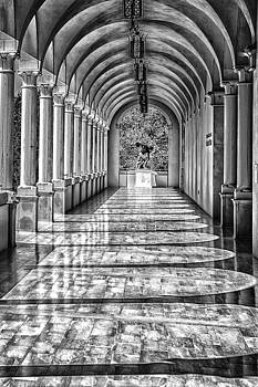 The Marble Path Ringling Museum by J Thomas