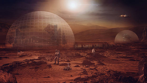 The Mars Colony by Susan Gerardi