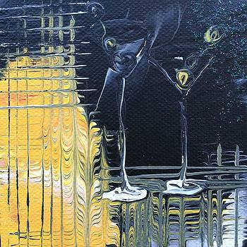 The Martini Duo by Camille Ellington