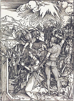 Albrecht Durer - The Martyrdom of Saint Catherine