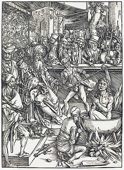 Albrecht Durer - The Martyrdom of Saint John