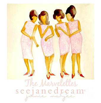 The Marvelettes by Janie McGee