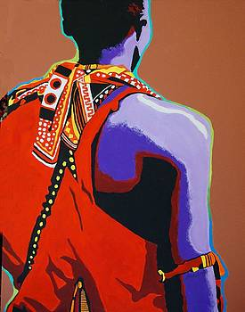 The Masai by Gail Zavala