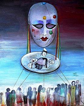 The Mask by Patricia Velasquez de Mera