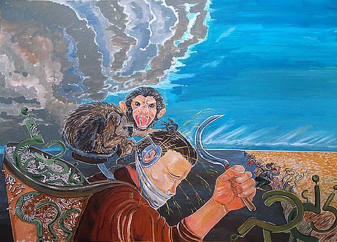 The massacre of reflections by Lazaro Hurtado