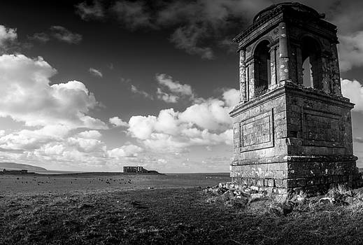 The Mausoleum at Downhill Demense by Glen Sumner