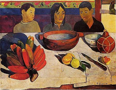 Gauguin - The Meal, The Bananas