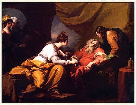 West Benjamin - The Meeting Of Lear And Cordelia 1784