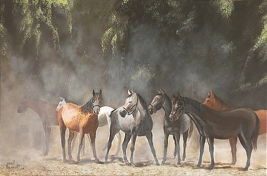 The Meeting by Paul Bennett
