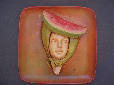 The Melon Girl by Mari Sanchez