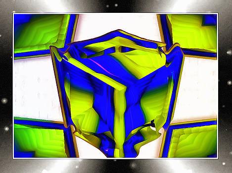 The Melting Cube by Mario Carini