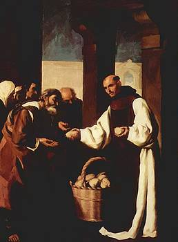 Zurbaran Francisco de - The Mercy Of Fra Martin De Vizcaya 1639