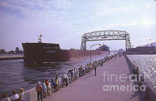 The Mesabi Miner  Freighter                Duluth  Minnesota         Lake Superior by Rory Cubel