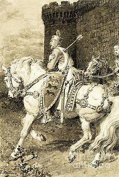 Fortunino Matania - The Mighty King of Chivalry  Richard the Lion Heart