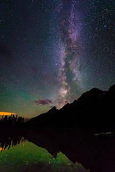 The Milky Way Over String Lake by Matt Shiffler