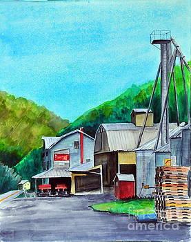 The Mill at Shade Gap II by John W Walker